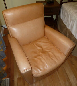 Honey Leather Chair