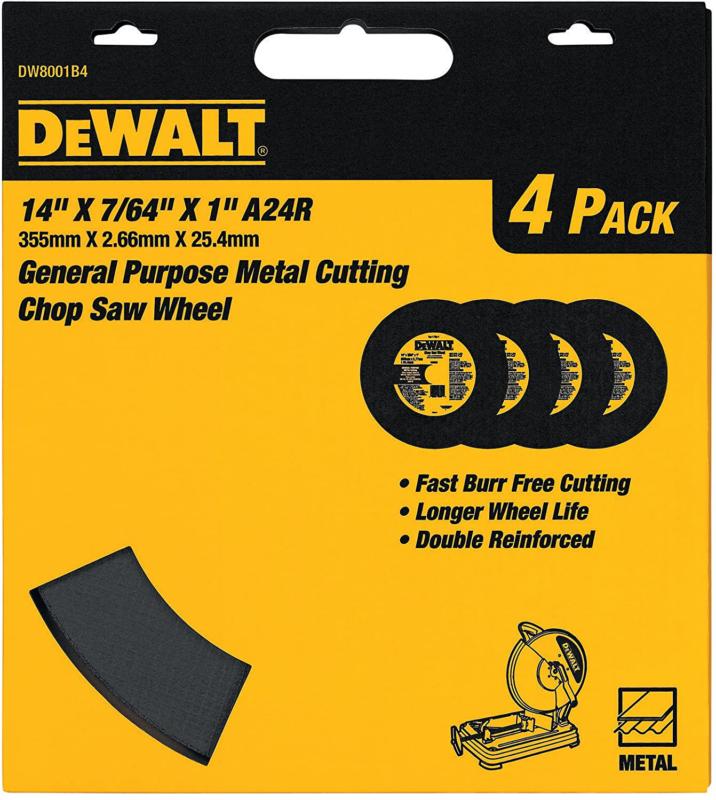 DEWALT Purpose Chop Saw Wheel Blades Tools 14-Inch by 7/64-I