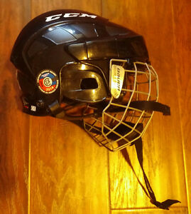 ccm youth hockey helmet with cage