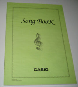 Casio Song Book