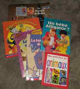 6 French books