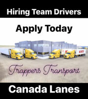 Hiring Professional Team Class 1 Drivers (NEW RATES)