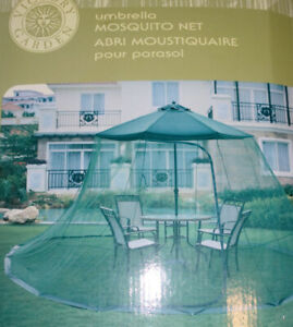 NEW outdoor patio table mosquito net