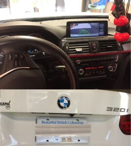 Add Back Up Camera to Factory Radio for BMW Mini