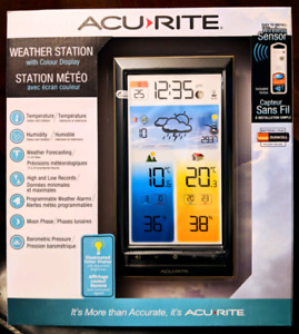 *NEW* Acurite Weather Station With Colour Display