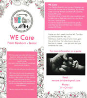 WE care from New Born - Senior