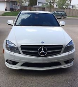 2009 Mercedes-Benz C230 4Matic  for sale low KM