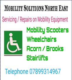 Mobility Equipment Service/Repairs