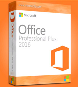 Microsoft Office 2016 Professional Plus for PC (1 PC licence)