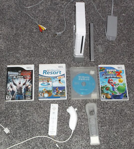 NINTENDO WII SYSTEM + CONTROLLERS & GAMES * 100% TESTED