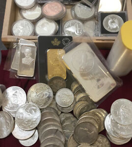 Wanted: Gold and Silver Coins, Bullion, Old Paper Money