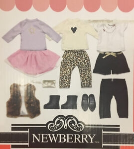 "NEWBERRY CLOTHING FOR 18"" DOLLS BRAND NEW IN SEALED BOX"