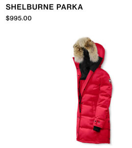 NEW CANADA GOOSE WOMEN'S PARKA! Perfect condition (Size 2XS/2TP)
