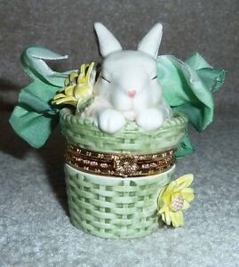 Hand Crafted Easter Bunny Decoration by Mud Pie