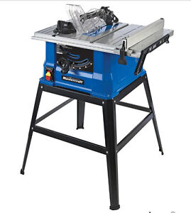 BRAND NEW Mastercraft 15A Table Saw with Stand, 10-in