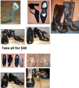 Size 8 Ladies Shoes Lot (Take all for $40)