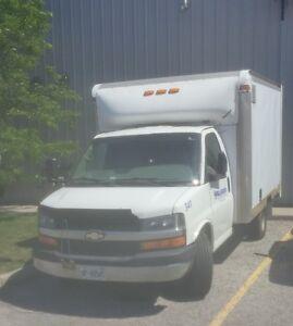 COMES w/ JOB !!! GUARANTEED REVENUE w/ 2010 CHEVY 350 CUBE van