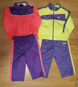 Baby girl Nike tracksuits
