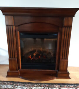 IMMACULATE ELECTRIC FIREPLACE
