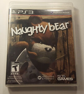 Naughty Bear PS3  $20