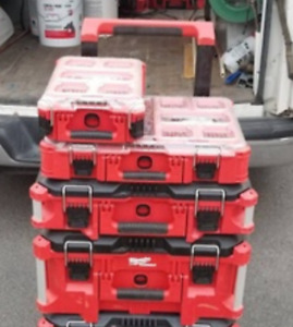 Looking for Milwaukee Packout Organizers Tool Boxes Bags Totes