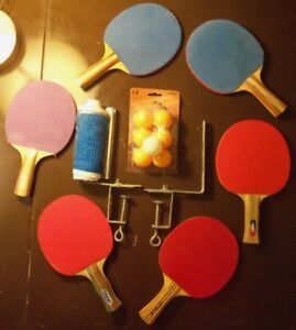 ping pong - paddle racket net clamp ball