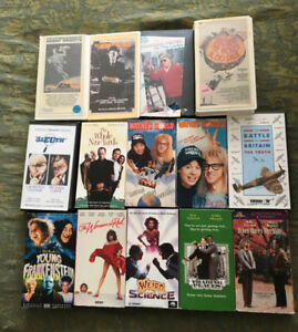 14 Classic VHS Movies - Free
