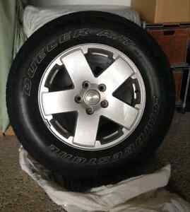 Jeep Sahara Mags and Tires. *** QUICK SALE ***