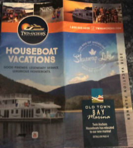 3-Day House Boating Trip in Shuswap, BC.