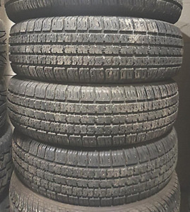 4 Tires sized P185/70R14 at 70% Tread left on them Selling for $