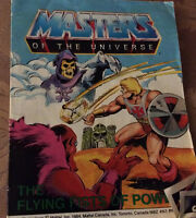 Vintage Masters of the Universe Books 1984