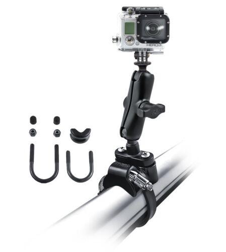 RAM Mount GoPro Hero ATV/UTV Strap Clamp Roll Bar Mount