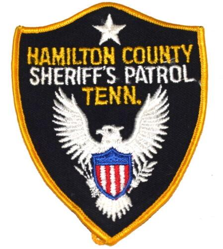 HAMILTON COUNTY - SHERIFFS PATROL - TENNESSEE TN Sheriff Police Patch MESH USED