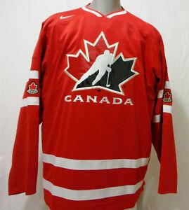BRAND NEW NIKE TEAM CANADA MENS XL IIHF JERSEY