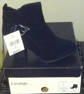 New Ladies Lidor ankle boot with Buckle. Size 6 Black