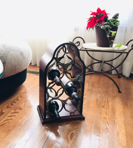 """""""Bombay company"""" Wooden wine rack """"Mint condition!!"""""""