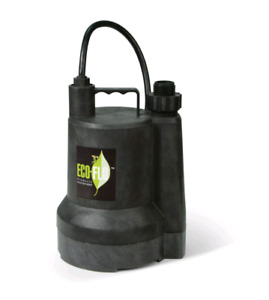 ECO-FLO SUP54 0.166 HP ManThermoplasticSubmersible Utility Pump