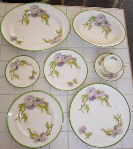 38 Pc Royal Doulton Glamis Thistle Dinnerware Service For 6