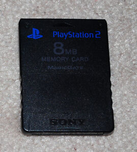 Official 8MB Playstation 2 PS2 Memory Card Cambridge Kitchener Area image 1