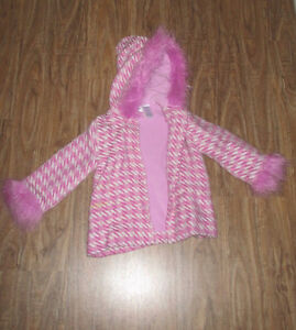 Pink Hooded Jacket Size 24M Kitchener / Waterloo Kitchener Area image 1