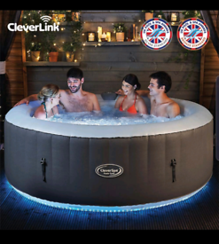 CleverSpa Monte Carlo inflateable hot tub
