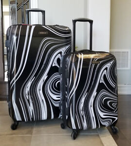 "28"" & 20'' American Tourister Burst Max,Hardside Spinner Luggage"