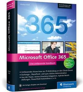 Microsoft Office 365: Das umfassende Handbuch von Widl, Ma...2962 | Buch | NEU