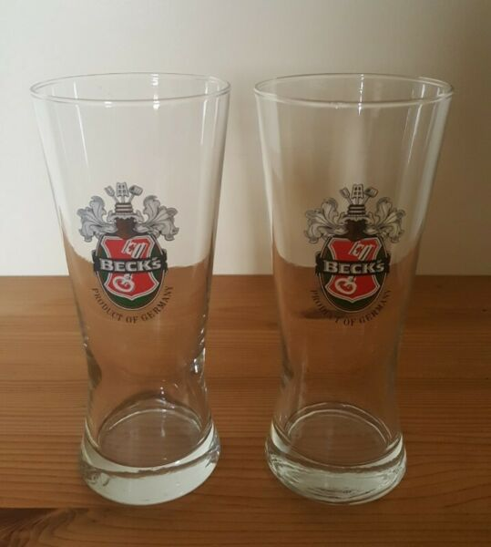 Beck's Beer Glass 350 ml (2 pieces)