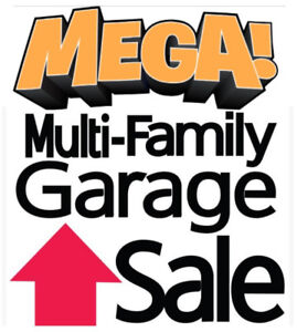 MEGA Multi Family Garage Sale