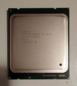 Intel Xeon E5-1620 3.60GHz Quad Core (8 logical cores) 10mb CPU