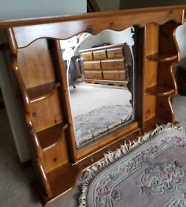 Bedroom Furniture, solid wood, in great shape