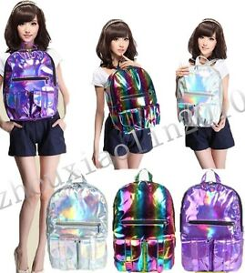 HOLOGRAPHIC-Gammaray-hologram-backpack-harajuku-shoulder-School-bag-Tote-laptop
