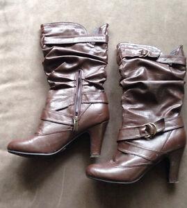 Le Chateau Brown Boots
