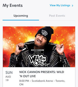 Nick Cannon presents Wild n'Out Tickets
